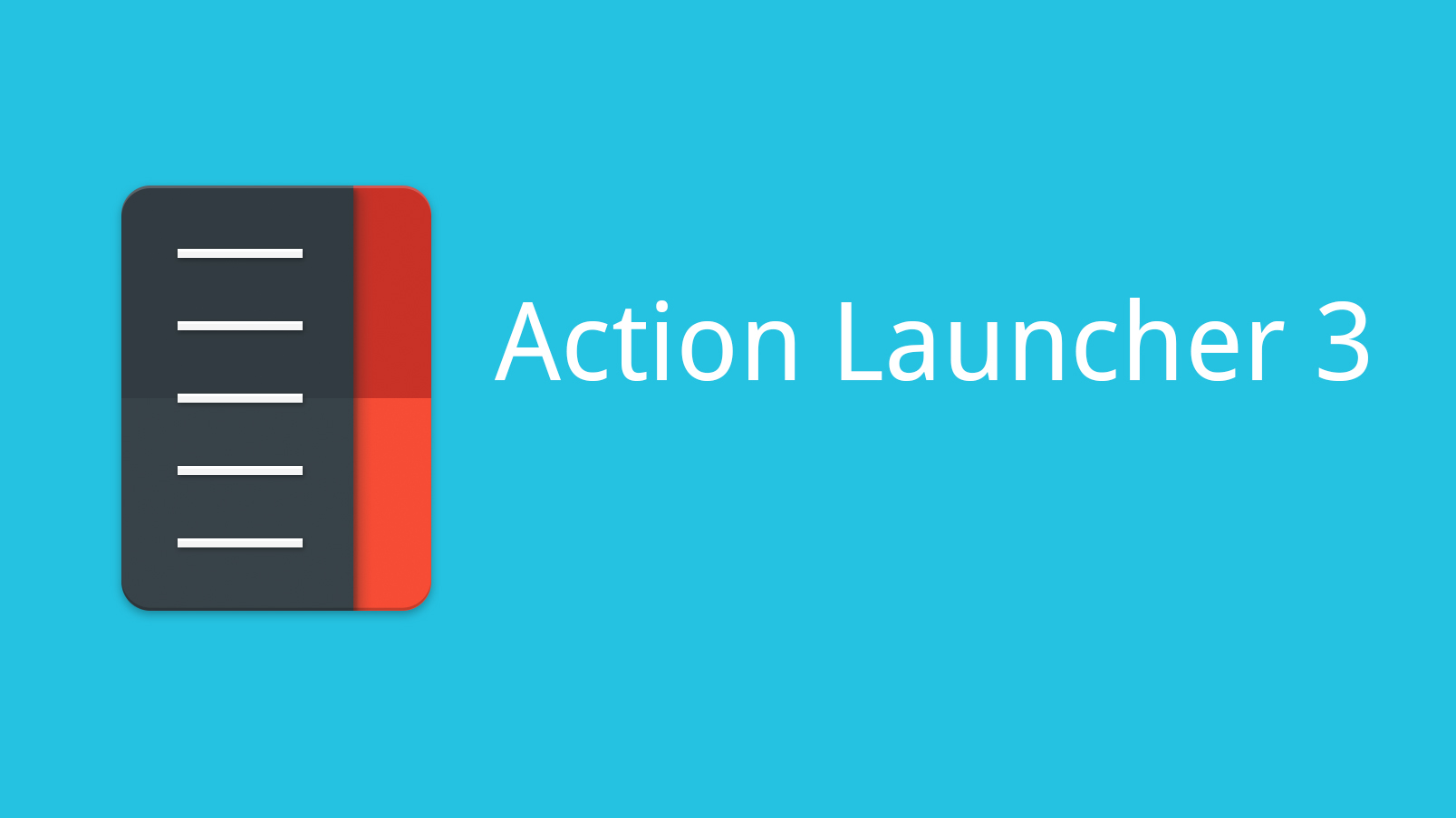 Action Launcher 3, Android launcher con Material Design
