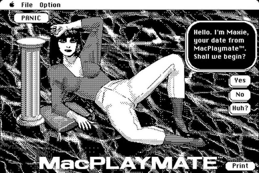 MacPlaymate, l'app porno quando non c'era il porno
