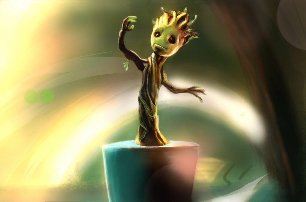 Una figure targata Neca per Baby Groot