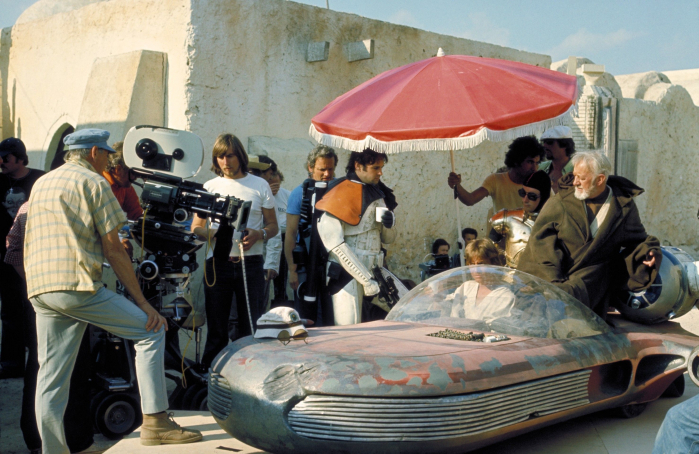 Sul set di Tatooine in Tunisia