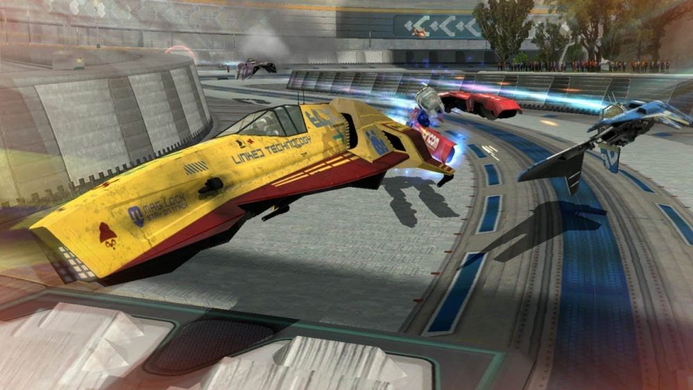 WipEout Omega Collection arriva su PS4