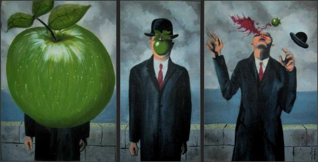 Ironiche interpretazioni di quadri famosi