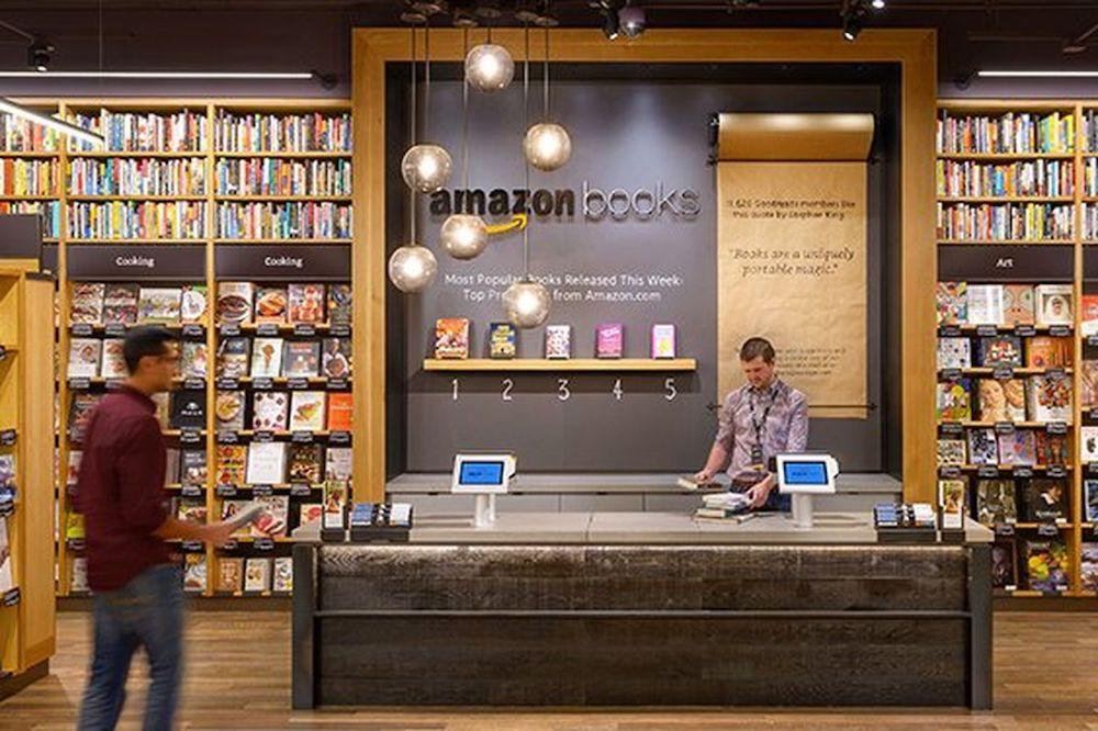 Nel 2017 Amazon aprirà un bookstore fisico a New York