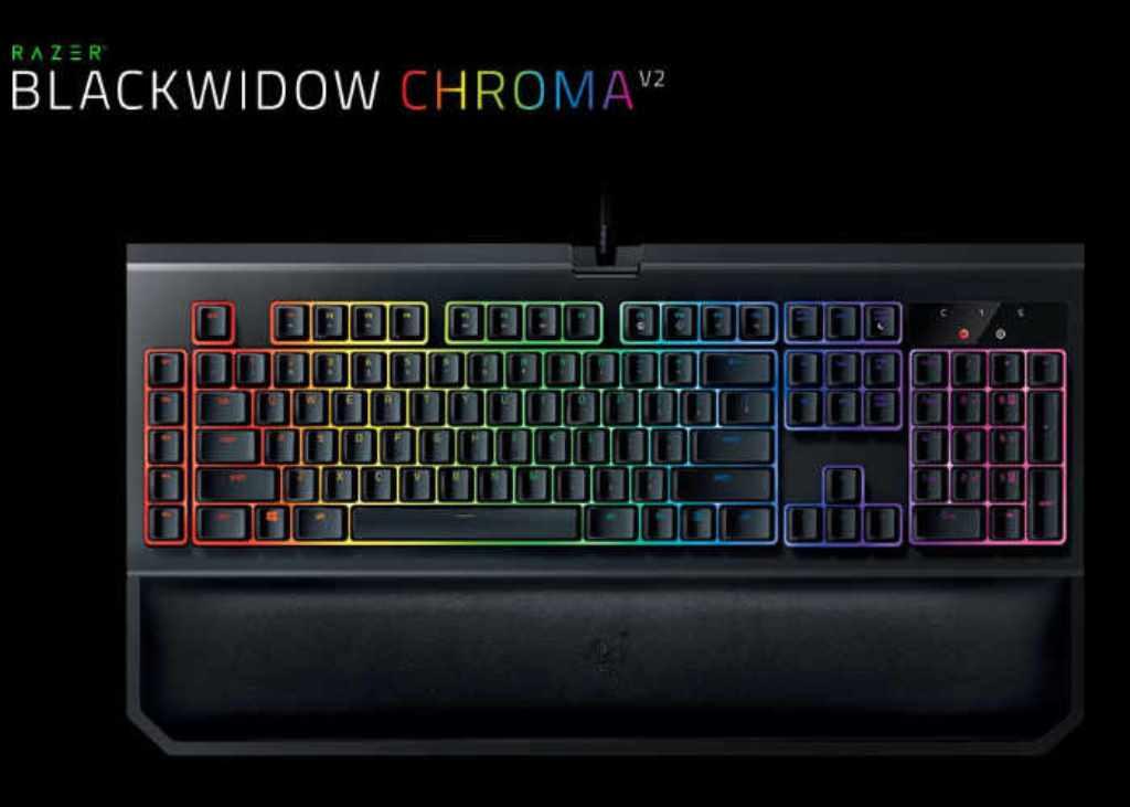 Razer annuncia la nuova tastiera BlackWidow Chroma V2.