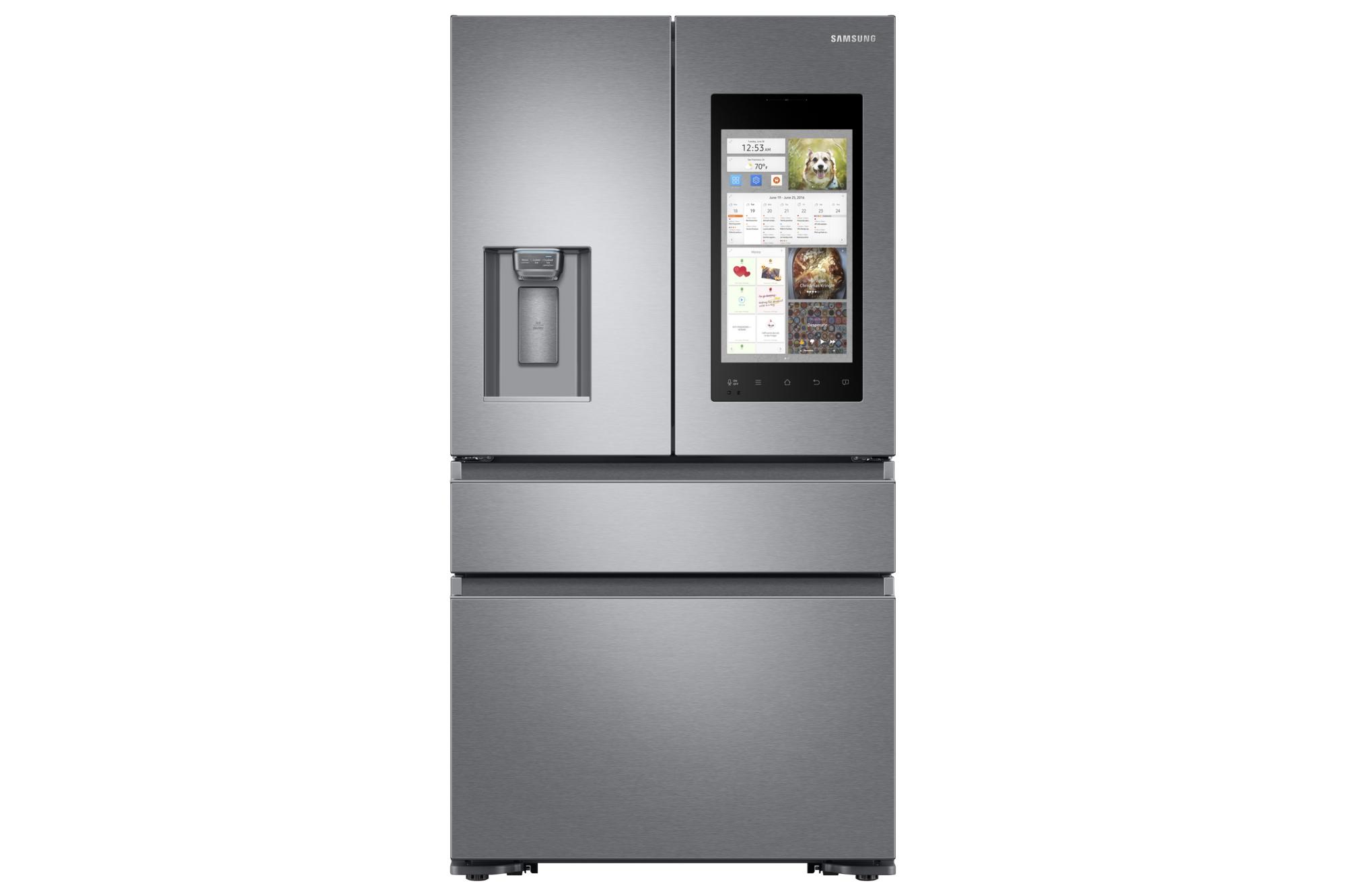 samsung nuovo frigorifero smart al ces 2017 leganerd