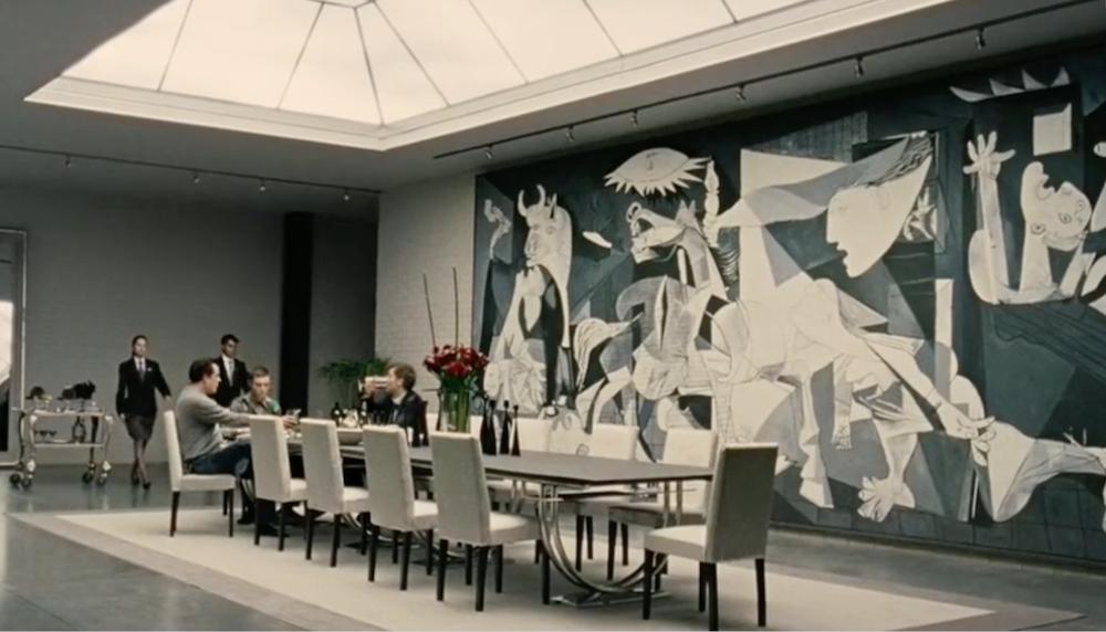 I dipinti che appaiono nei film