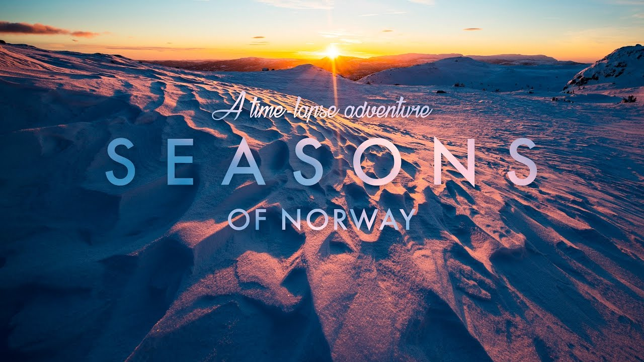 Seasons of Norway, la Norvegia in un timelapse a 8K