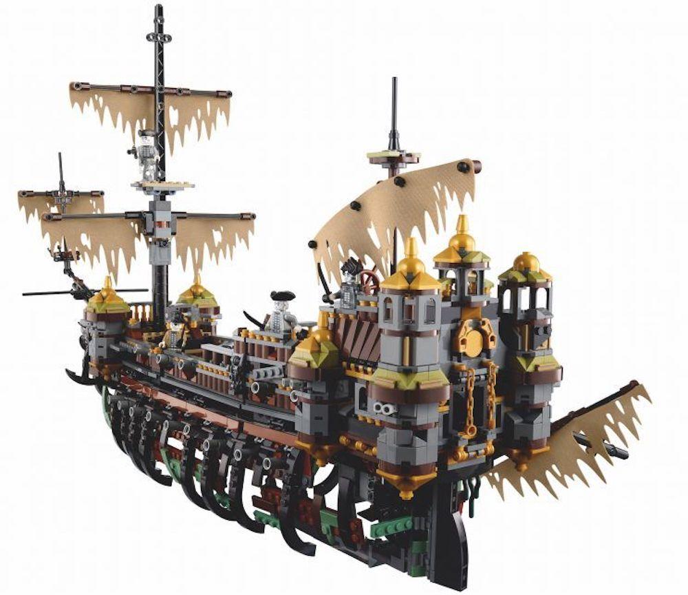Annunciato un nuovo galeone LEGO: 71042 The Silent Mary