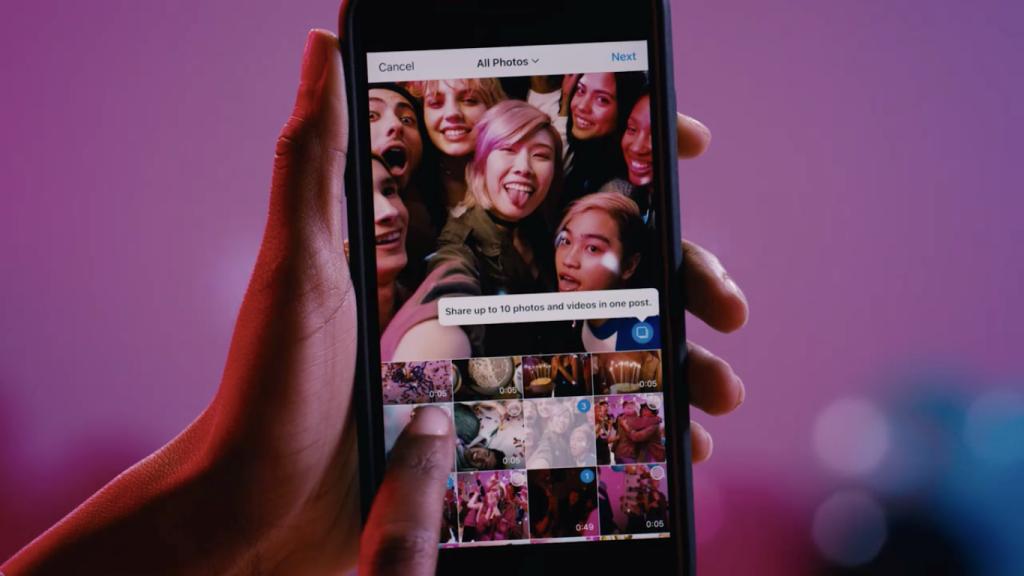 Instagram introduce i post multipli
