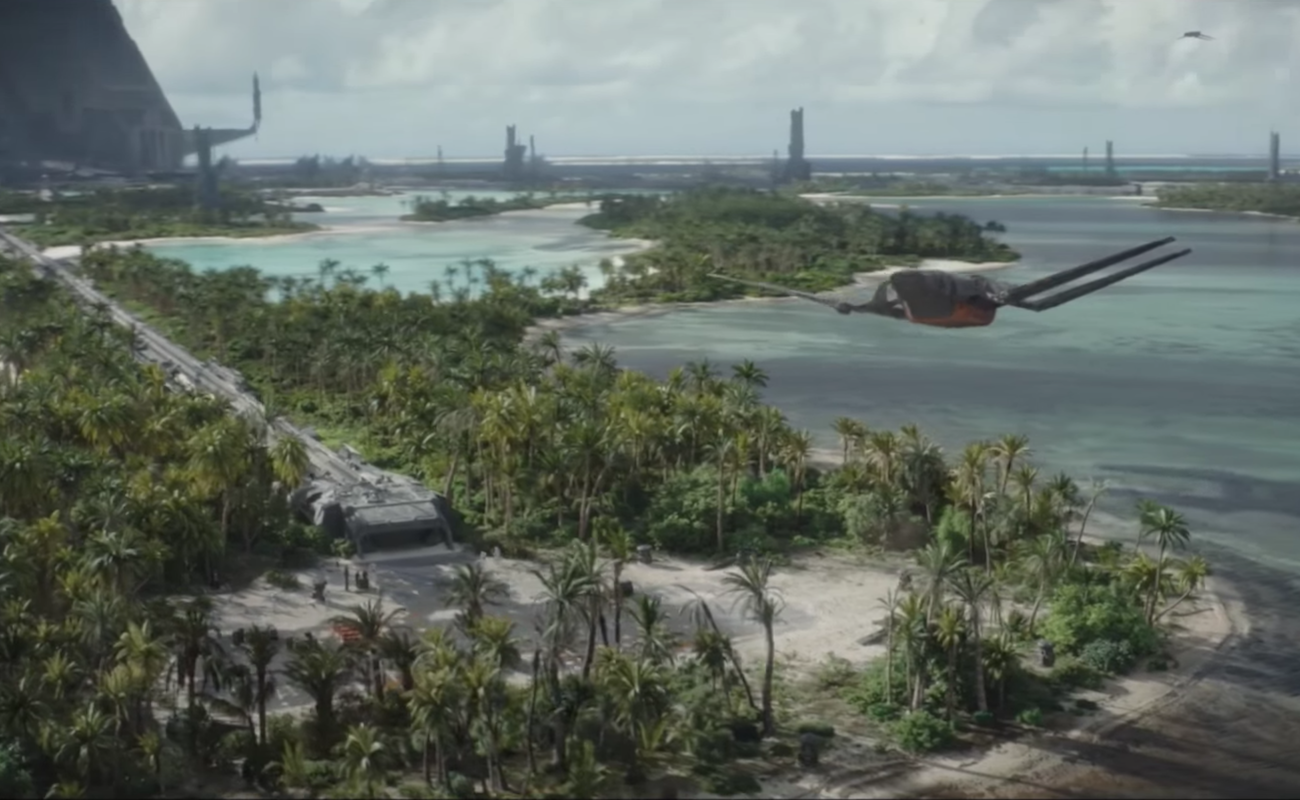Gli effetti speciali di Rogue One: A Star Wars Story