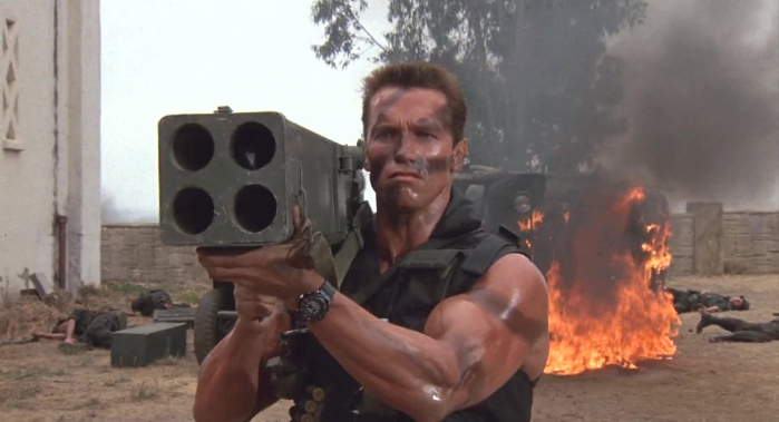 lanciarazzi Commando