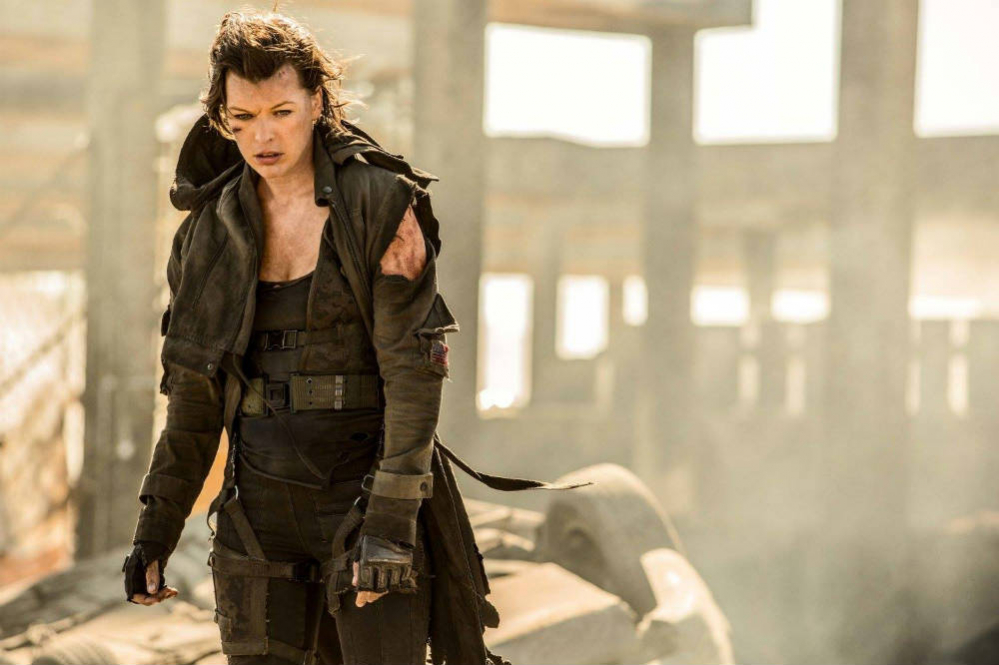 Resident Evil: The Final Chapter alice milla jovovich