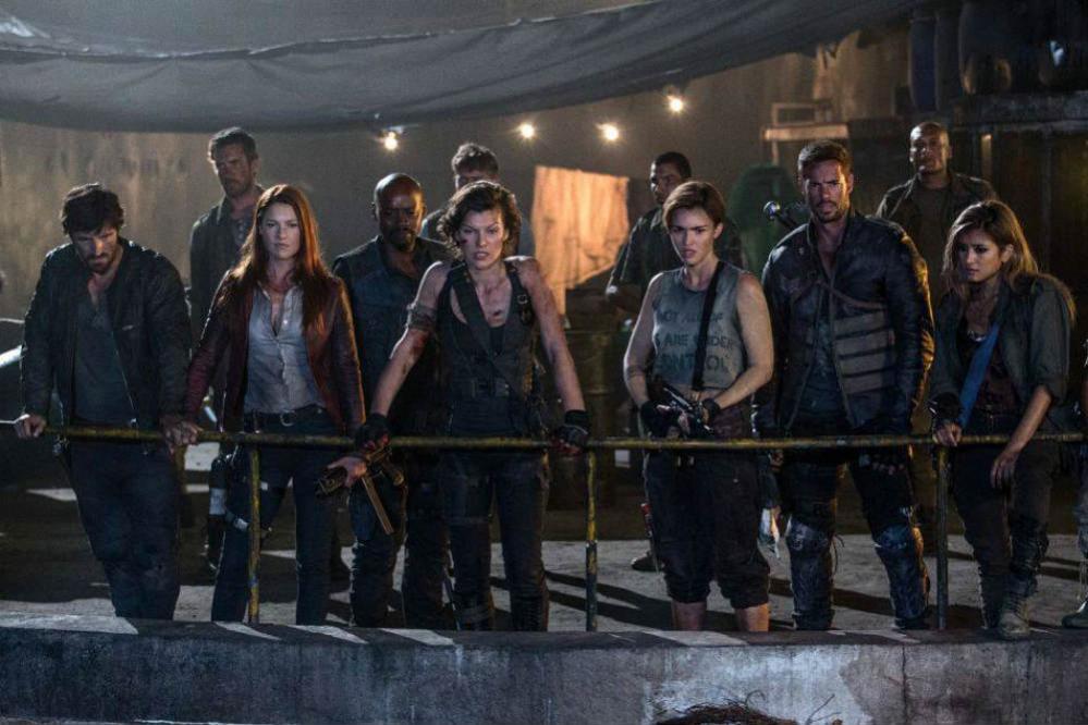 Resident Evil: The Final Chapter film