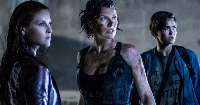 Resident Evil: The Final Chapter milla jovovich ali larter ruby rose