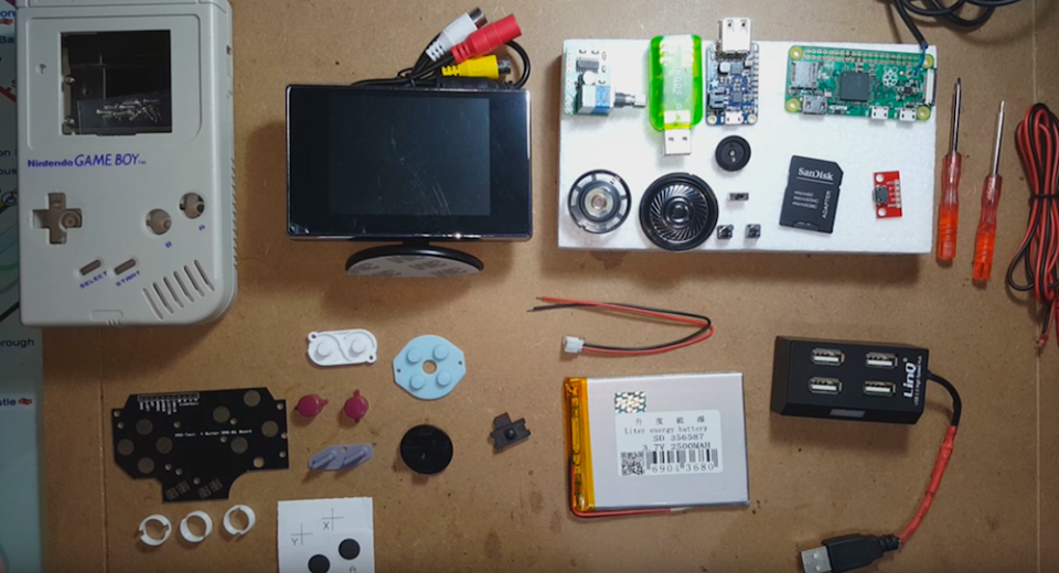 Tutorial: come costruire un Game Boy con un Raspberry Pi Zero