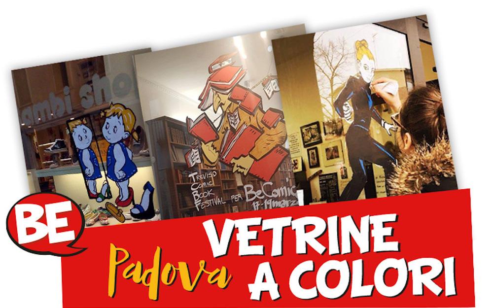 Vetrine a Colori al Be Comics! di Padova