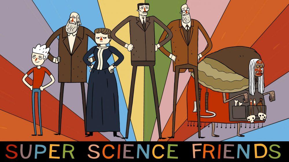 Super Science Friends Episodio 2