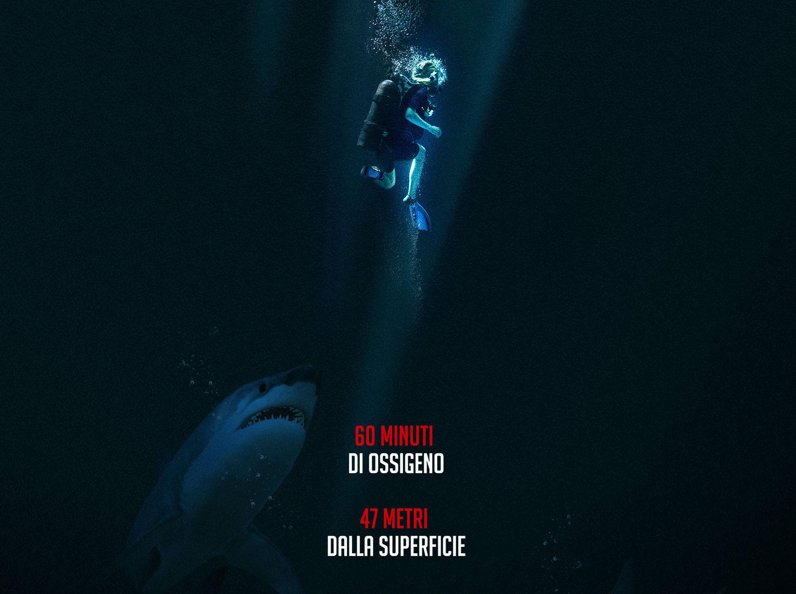 47 Metri: il trailer in italiano e locandina del film