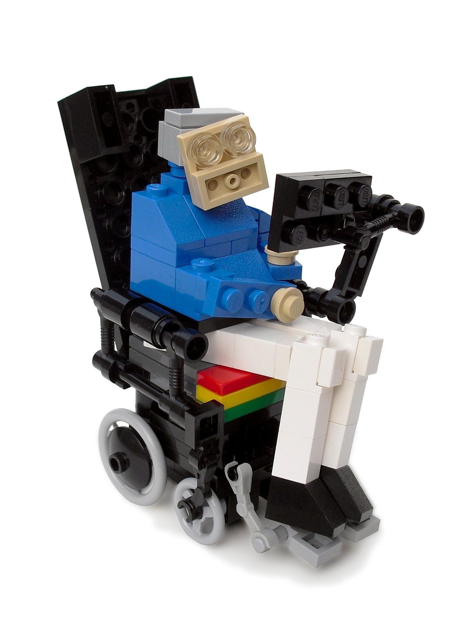 LEGO Stephen Hawking: disponibili le istruzioni