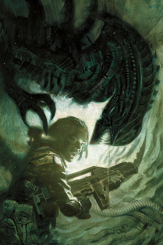 Alien nei fumetti: xenomorfi, acido molecolare e cellulosa