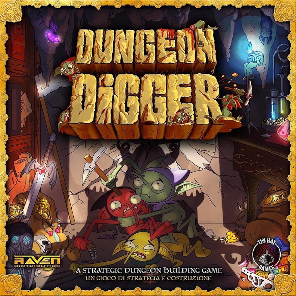 Dungeon Digger, un nuovo dungeon building boardgame su Kickstarter