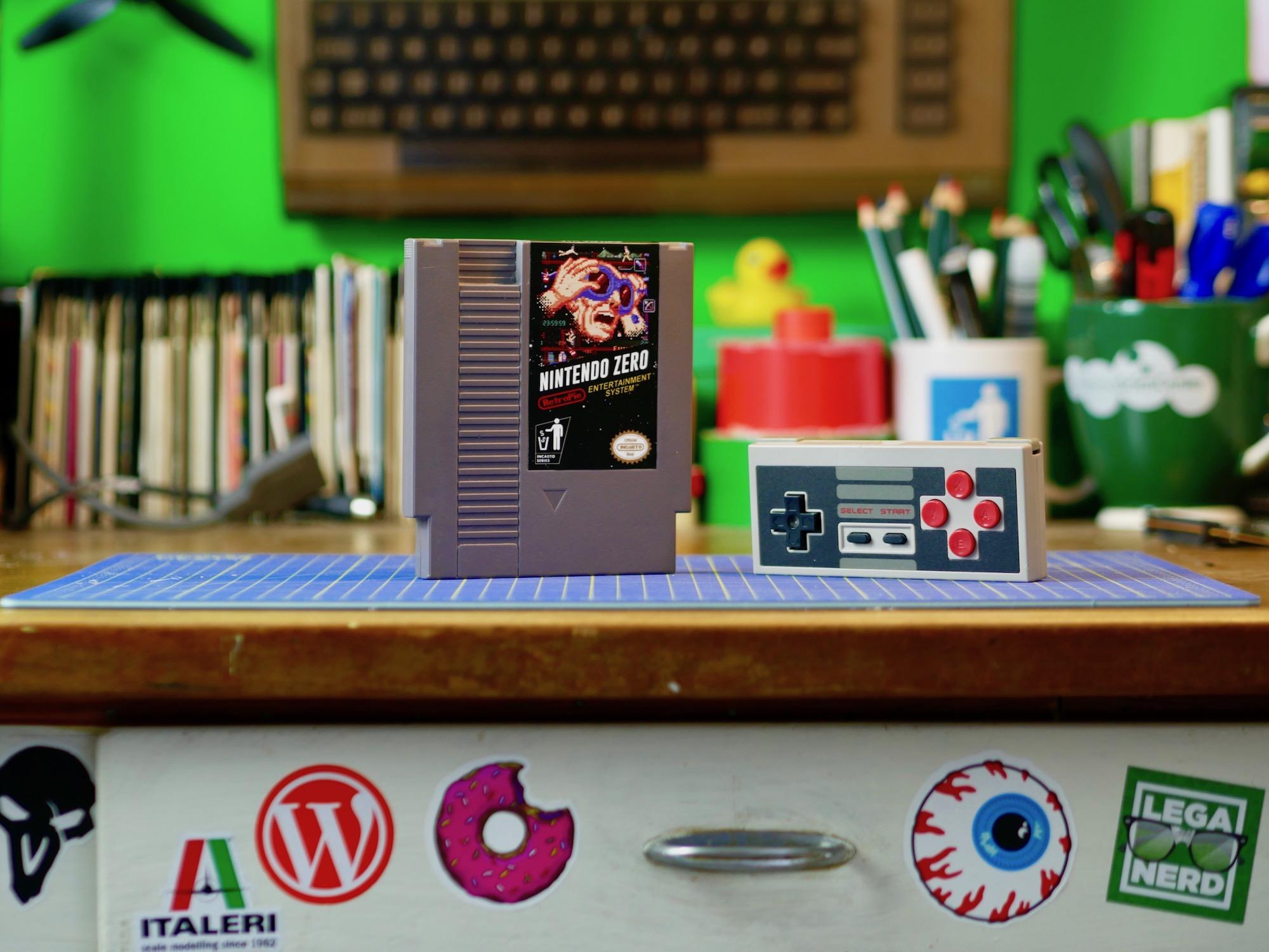 Nintendo Zero: Raspberry Pi Zero con RetroPie