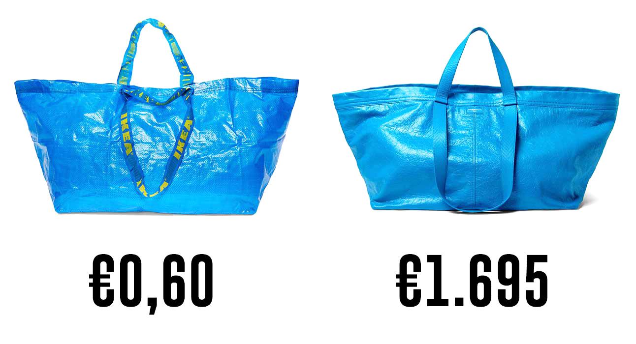 La risposta di Ikea alla borsa di Balenciaga da 1700 euro