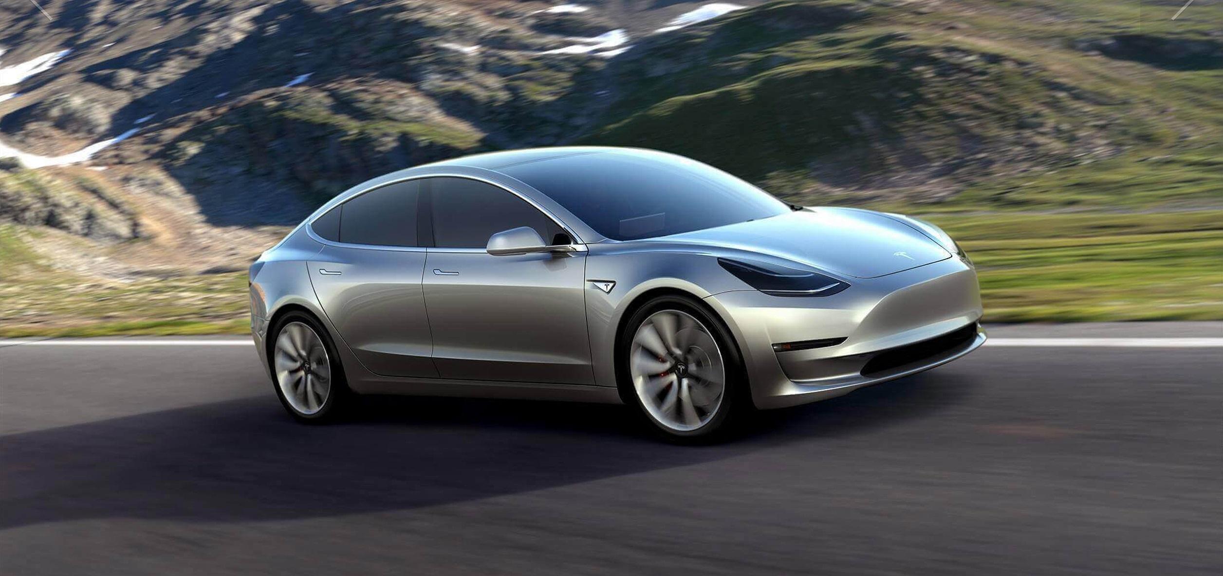 Tesla Model 3 si conferma l'auto elettrica più venduta in Europa