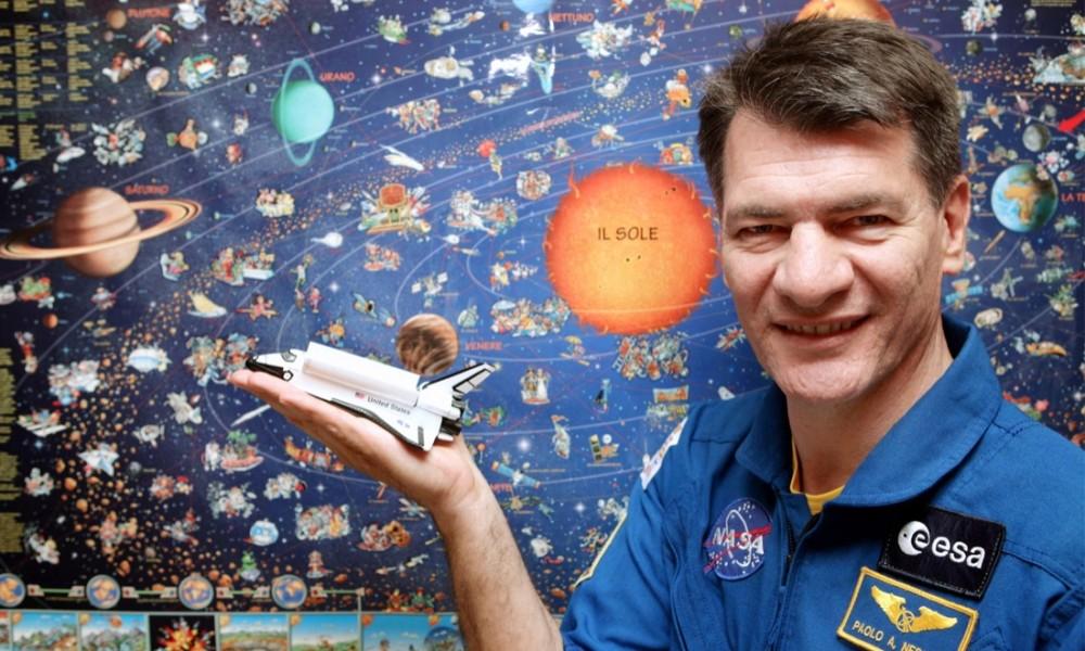 Nespoli presenta un docufilm sulla missione Expedition 52 e 53