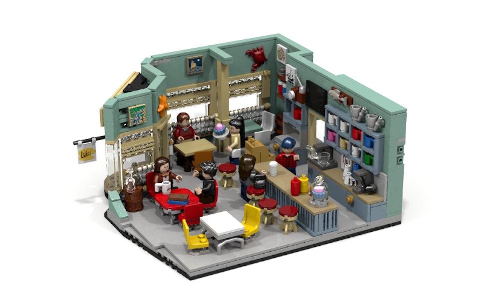 Una Mamma per Amica: il locale di Luke su Lego Ideas