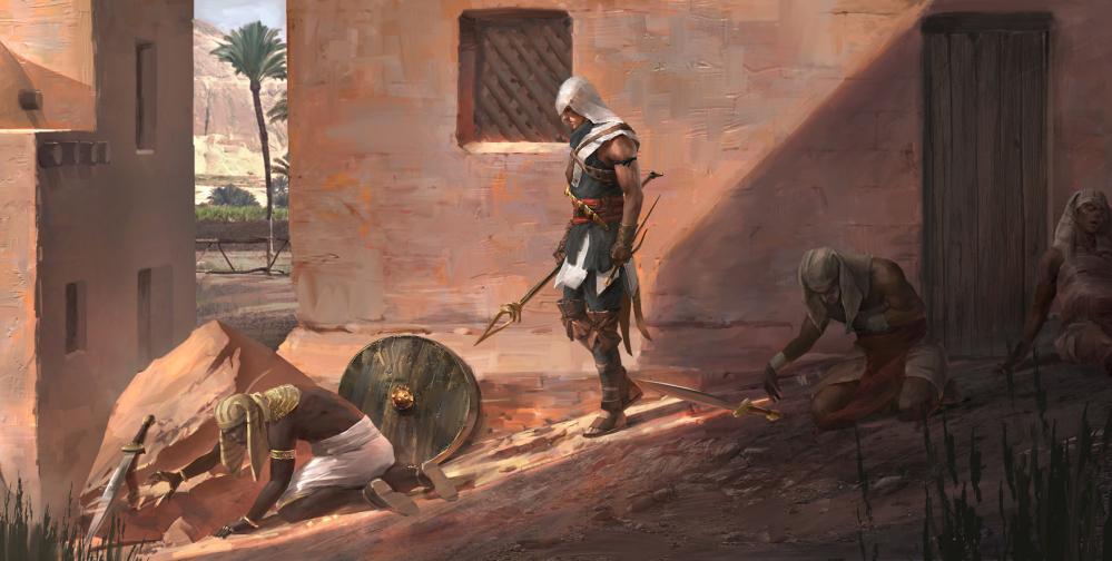 Nuove indiscrezioni su Assassin's Creed Origins