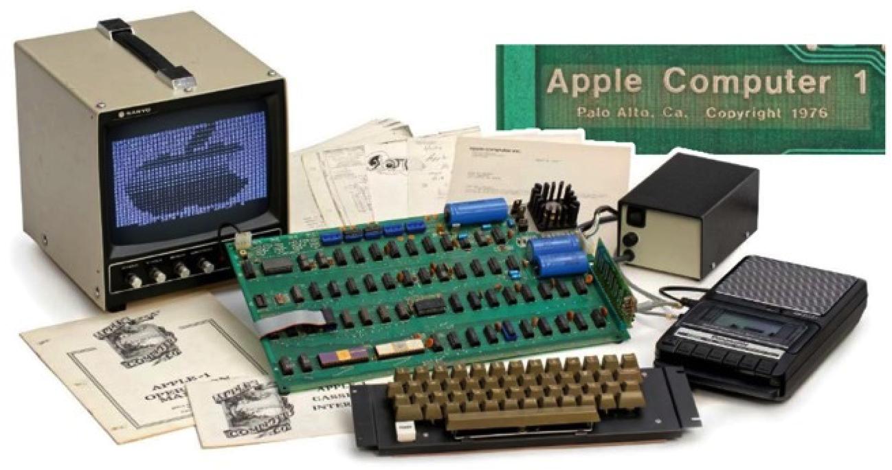Un Apple I venduto per oltre 90 mila euro in Germania