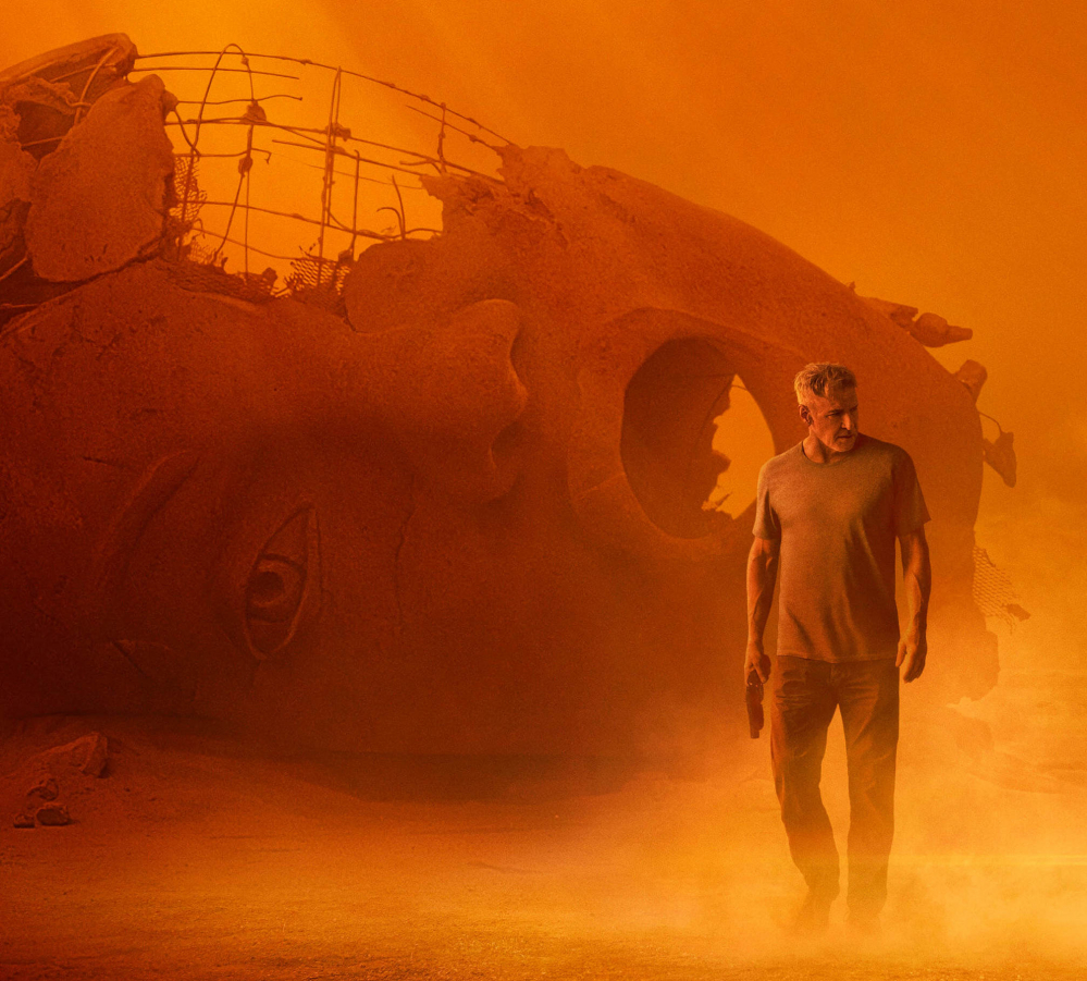 Blade Runner 2049: due character poster