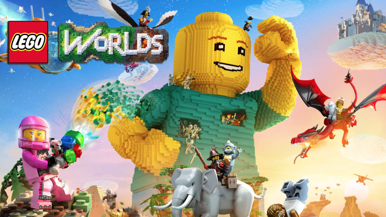 LEGO Worlds ora disponibile per Switch