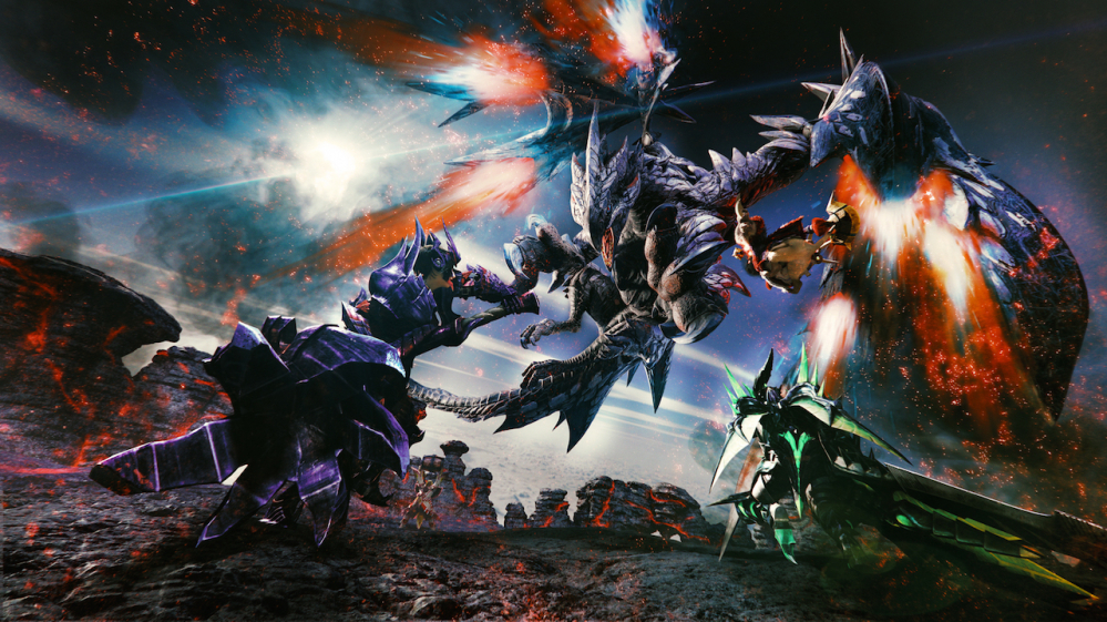 Monster Hunter arriva anche su Nintendo Switch: ecco il primo trailer