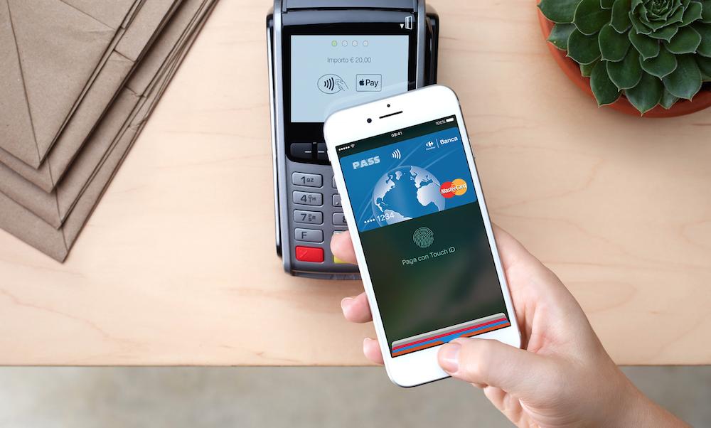 Apple Pay disponibile anche in Italia