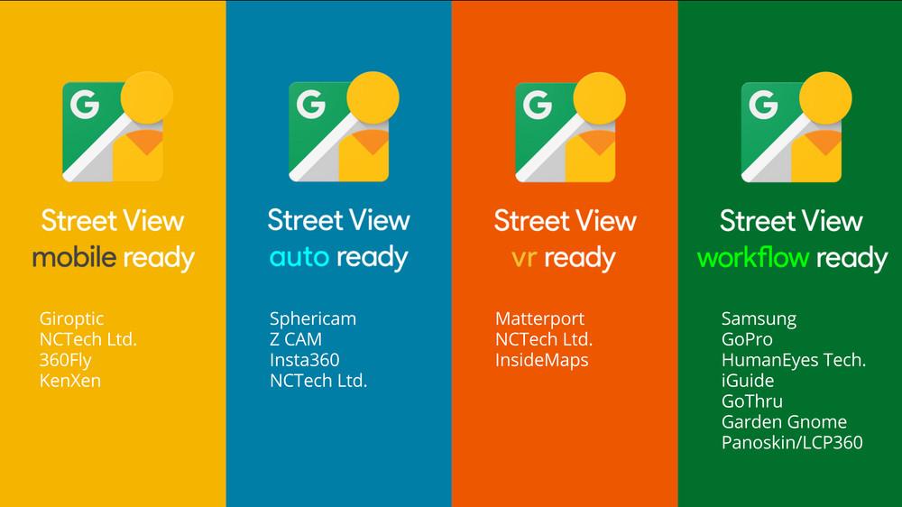 Google lancia il programma Street View ready
