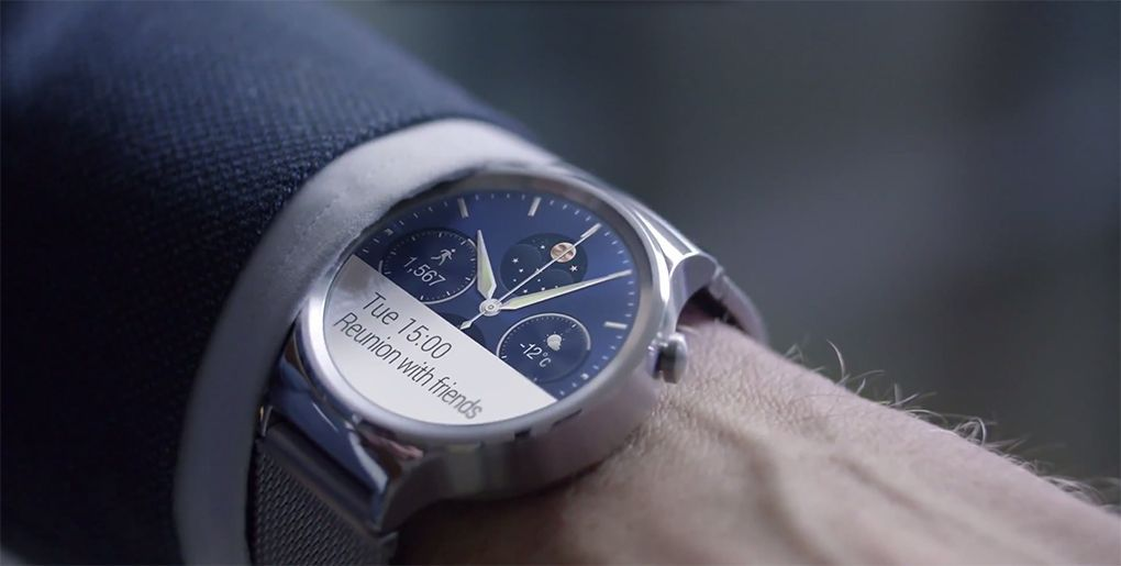 L'originale Huawei Watch si aggiorna ad Android Wear 2.0