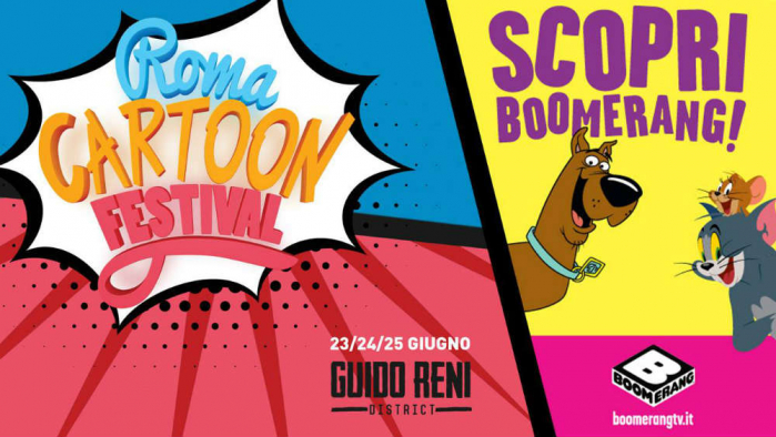 Roma Cartoon Festival boomerang