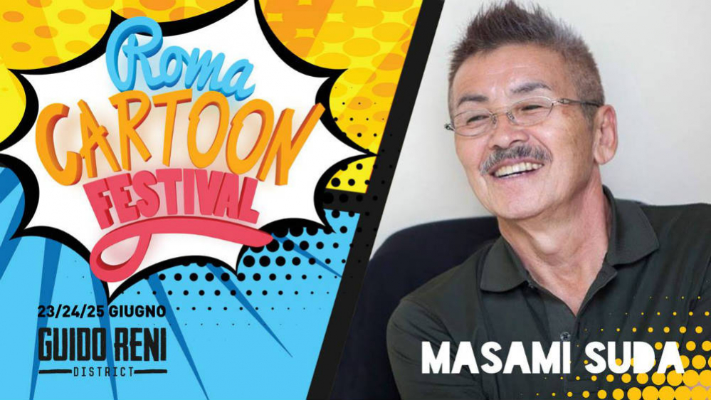 Roma Cartoon Festival Masami Suda