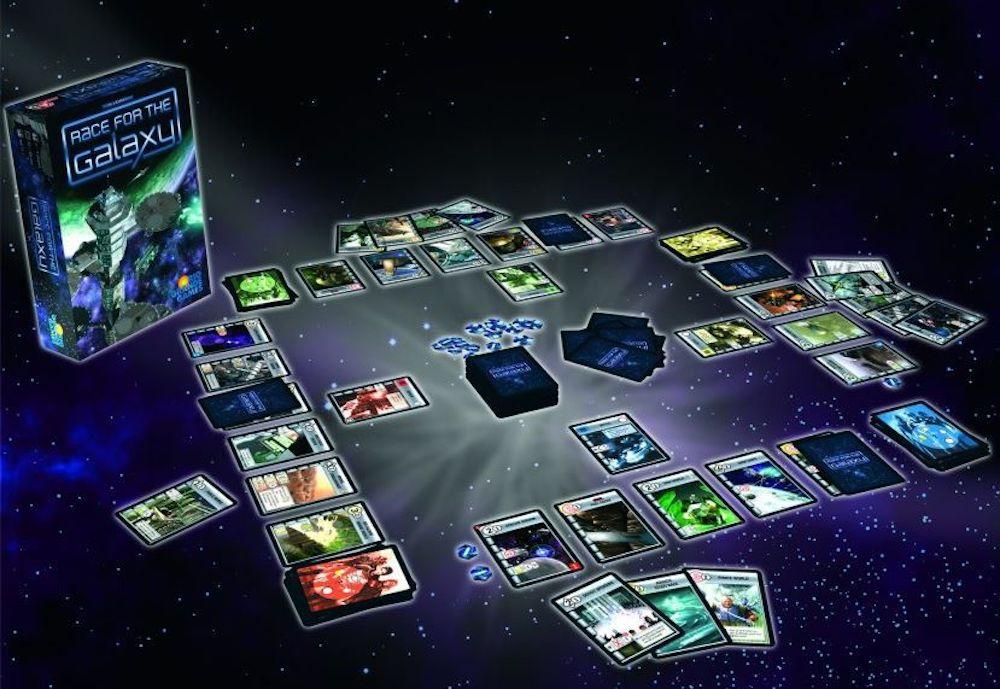 Race for the Galaxy: colonizzazione spaziale in una mano di carte