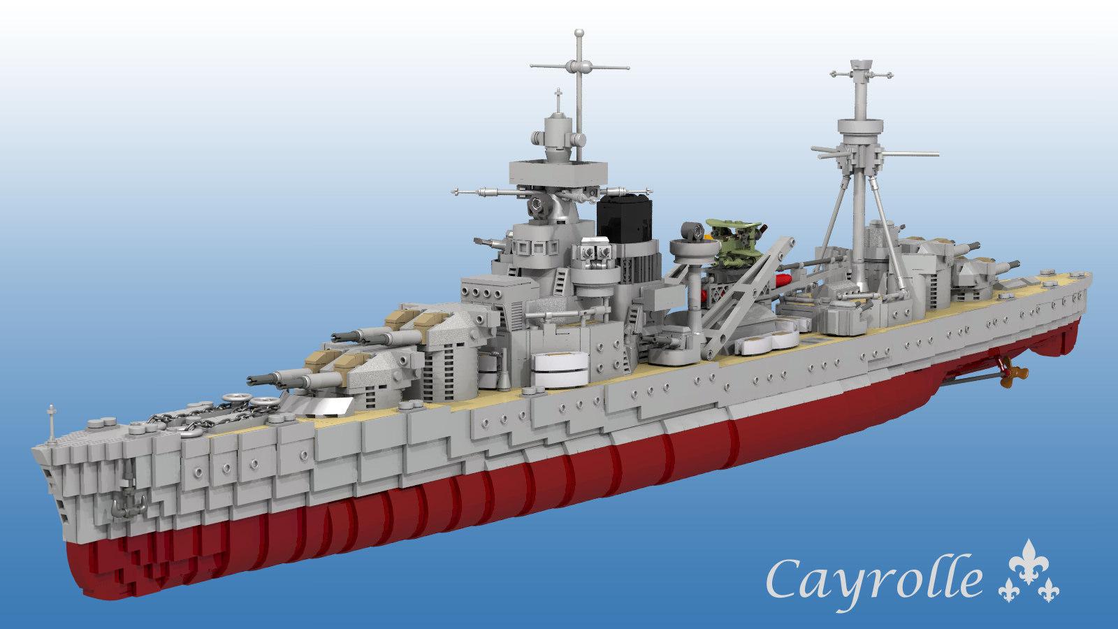 Yann, Cayrolle Class Heavy Cruiser