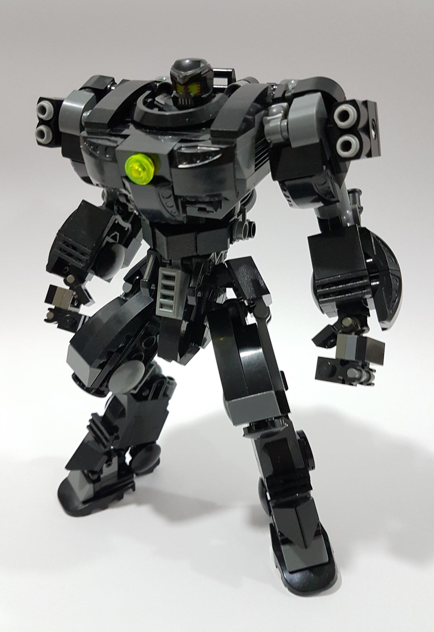 Il Robot Diavolo Veste Lego Leganerd