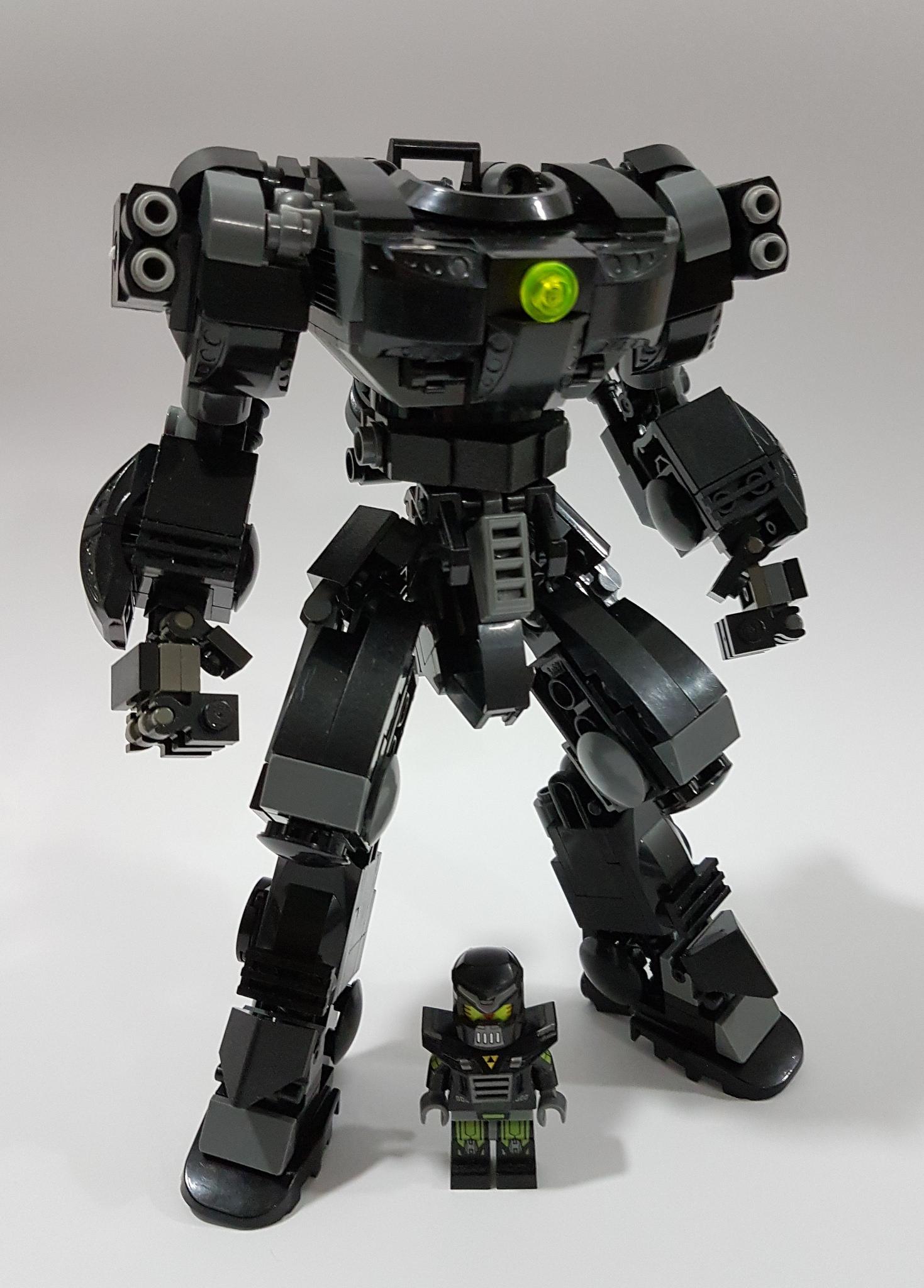 Il robot diavolo veste LEGO #LegaNerd