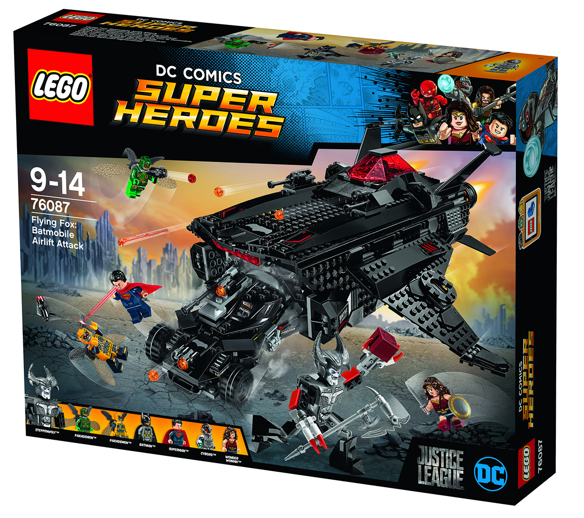 set LEGO Justice League