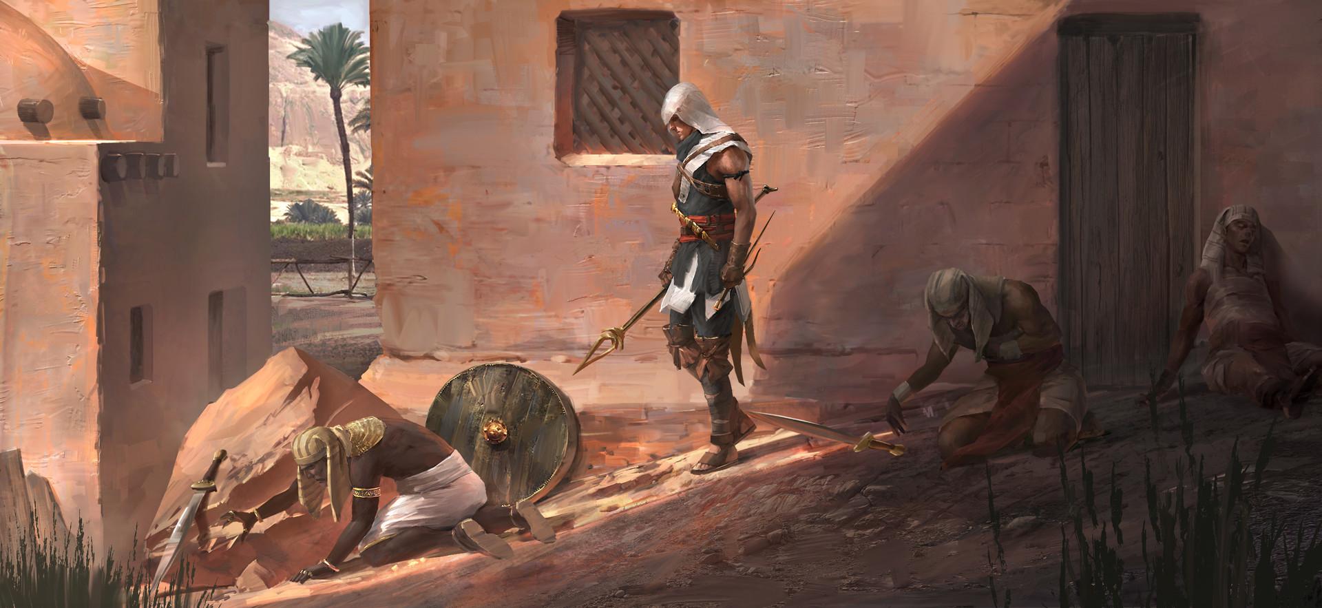 Un universo espanso per Assassin's Creed: Origins