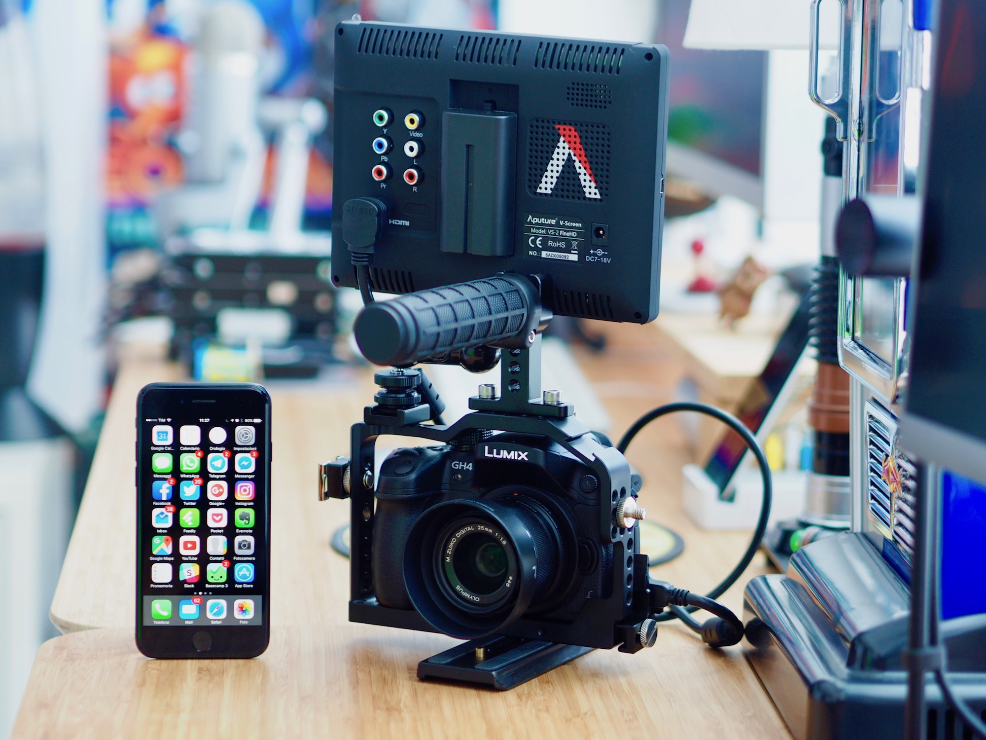 Youtube per babbani: dallo smartphone alla Panasonic GH4