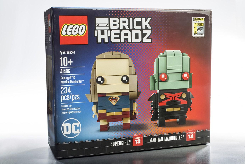 comiccon brickheadz dc