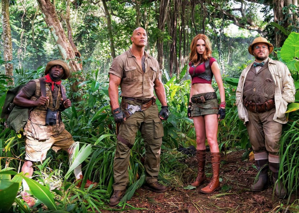 Jumanji 2: Welcome to the Jungle