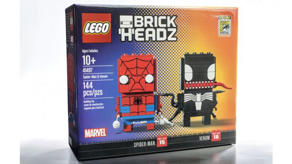 comicon brickheadz